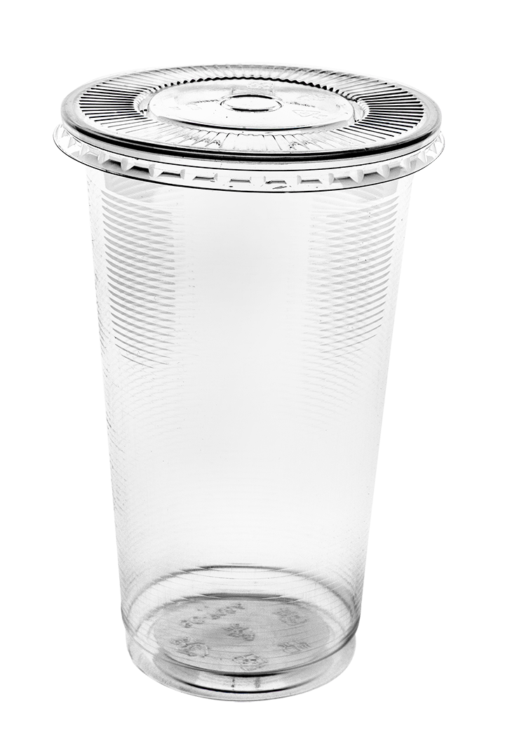 PP - AO700 Clear cup with flat lid